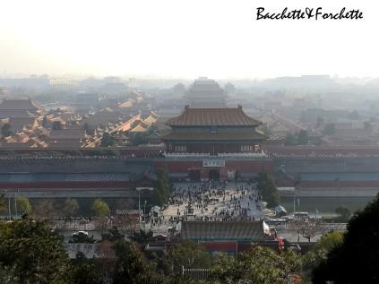 La Città Proibita vista dal parco Jinshan